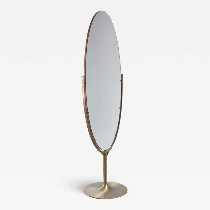 Very large 187 cm high floor mirror