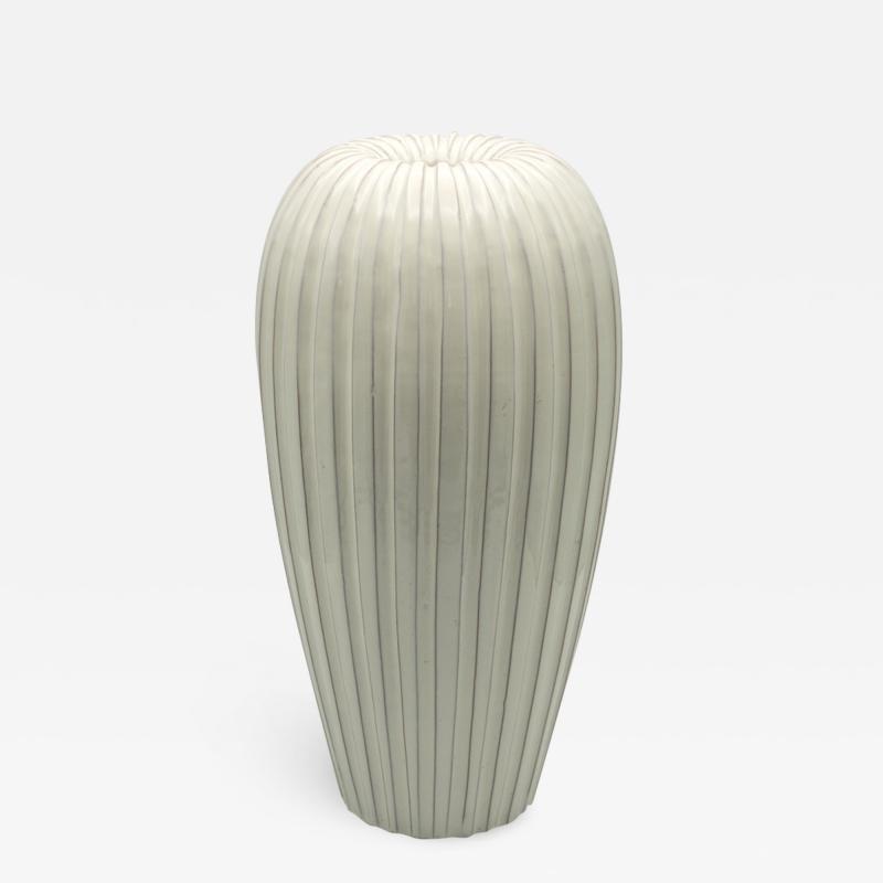 Vicke Lindstrand Large Swedish Ceramic Vase by Vicke Lindstrand Upsala Ekeby