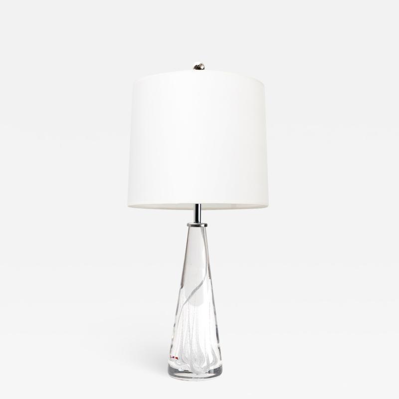 Vicke Lindstrand VICKE LINDSTRAND FOR KOSTA SOLID CRYSTAL LAMP