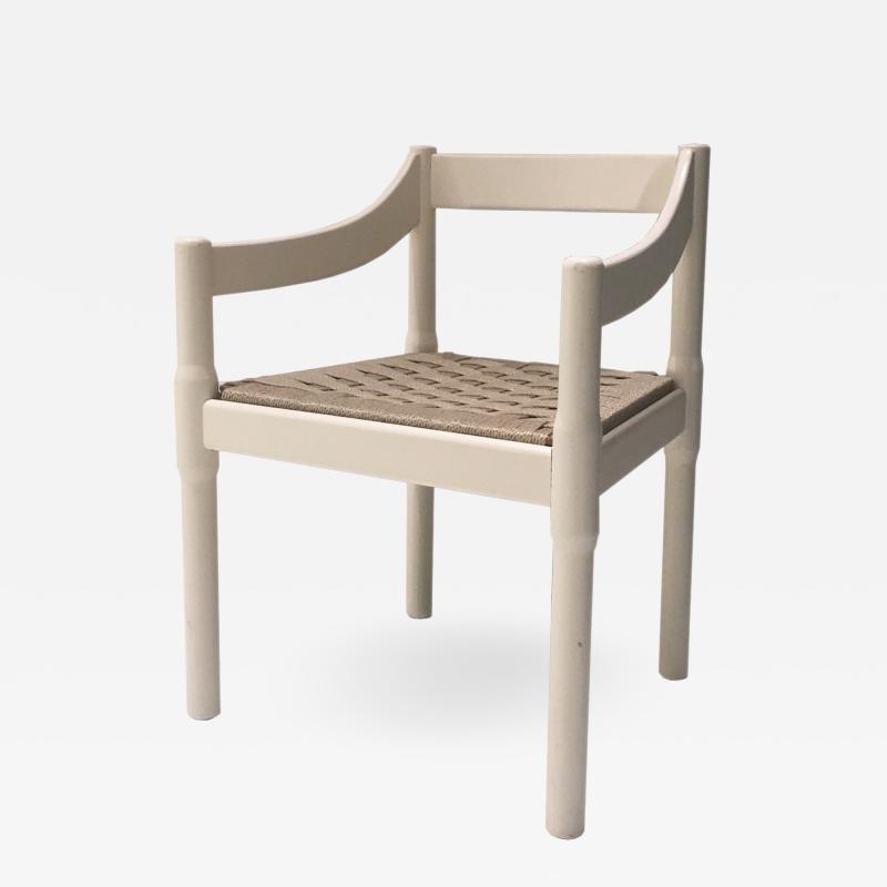Vico Magistretti Vico Magistretti for Cassina Vintage Dining Lounge Chair