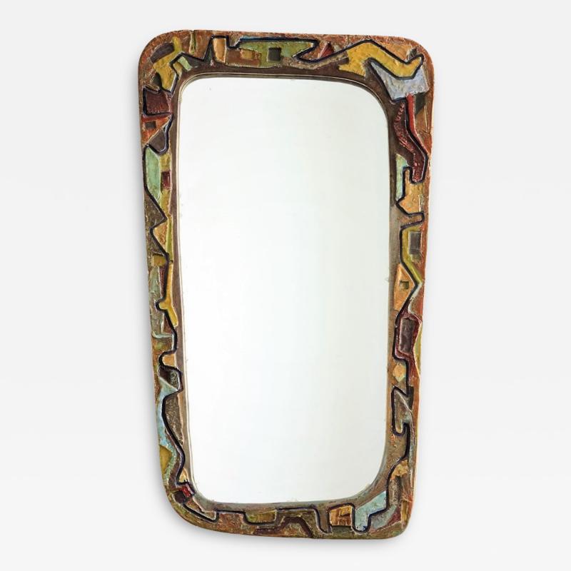 Victor Cerrato Mirror in Ceramic