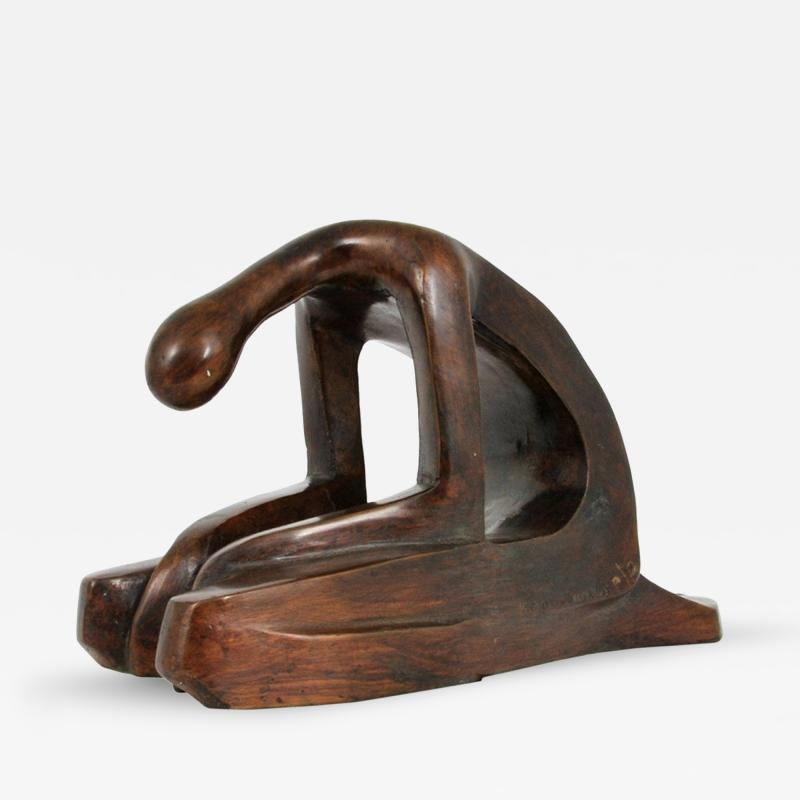 Victor Salmones Victor Salmones Bronze Sculpture Signed AP