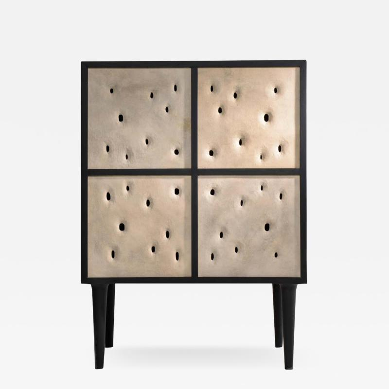 Victoria Yakusha Ceramic Contemporary Bar Cabinet