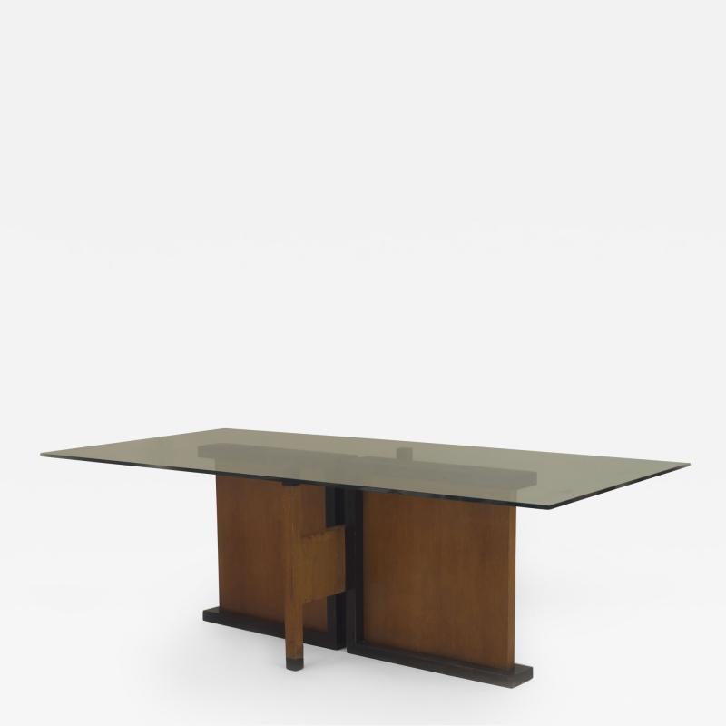 Vilmos Huszar Art Deco Constructivist Dining Set