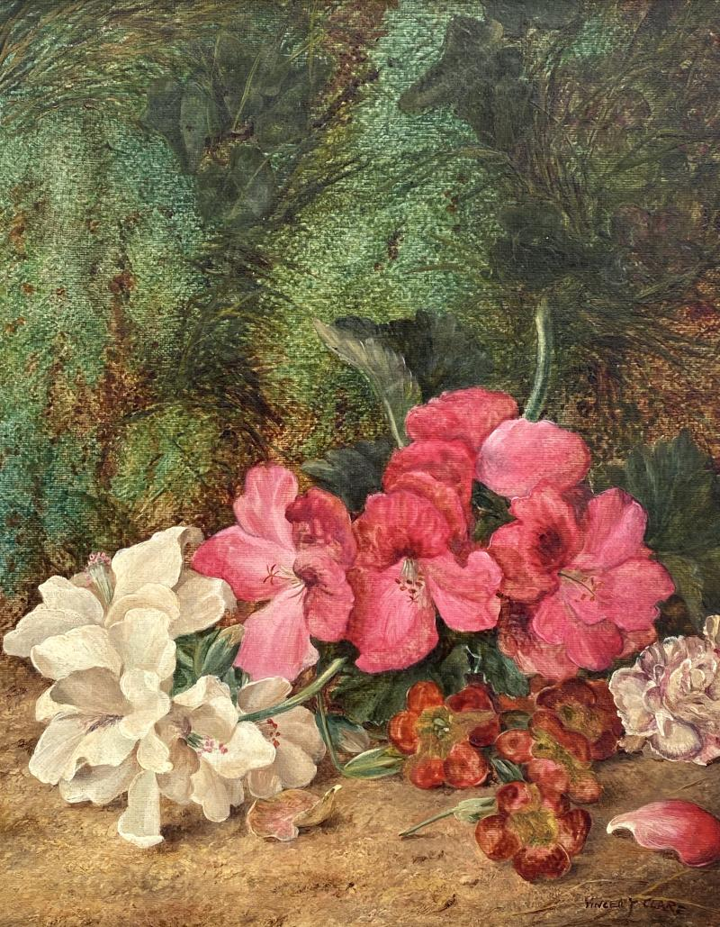 Vincent Clare Still Life with Flowers