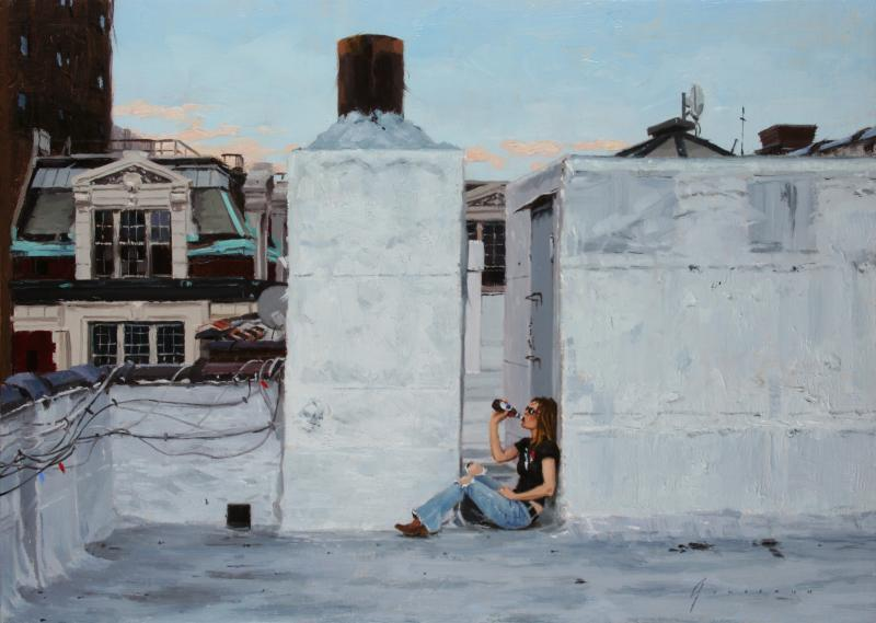 Vincent Giarrano East Village Roof