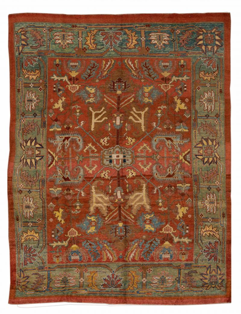 Vintage Bakshaish Tribal Wool Rug