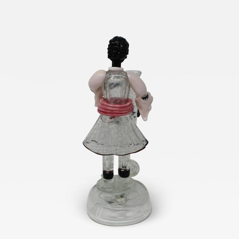 Vintage Blackamoor Murano Glass Figurine