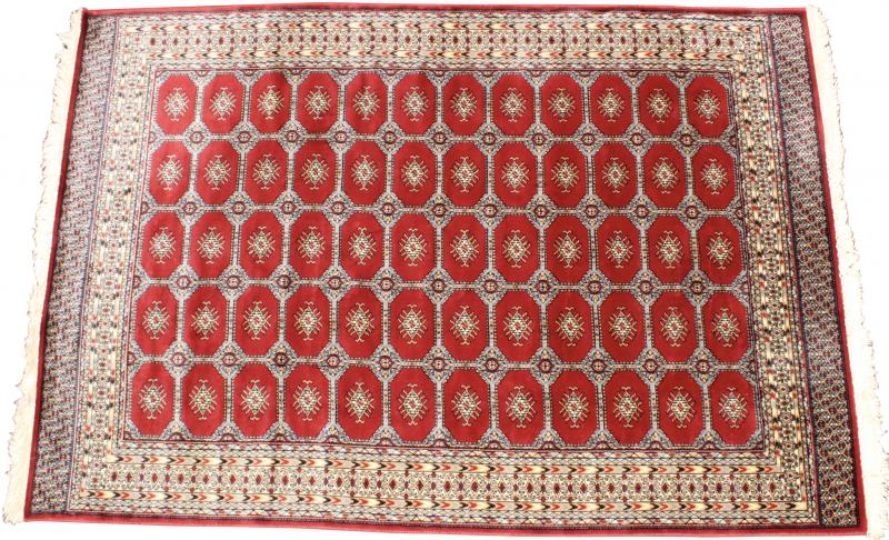 Vintage Bokhara Rug From Greece