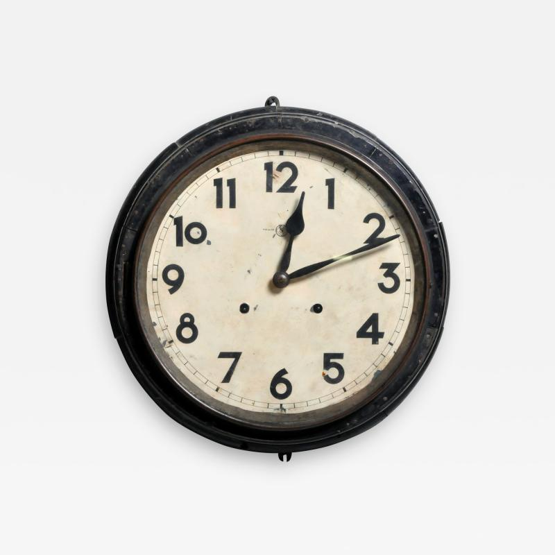 Vintage Burmese Wall Clock
