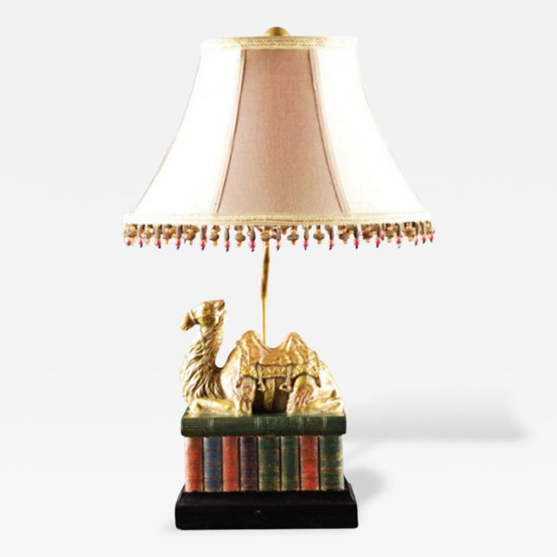 Vintage Camel Table Lamp