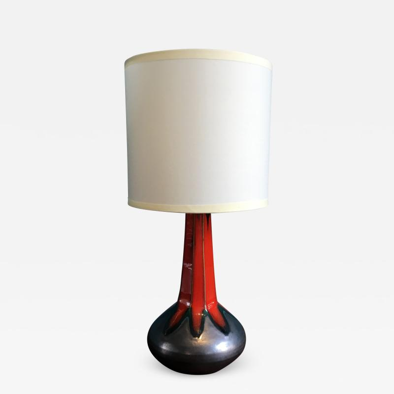 Vintage Danish Table Lamp by Ole Christensen 1960s