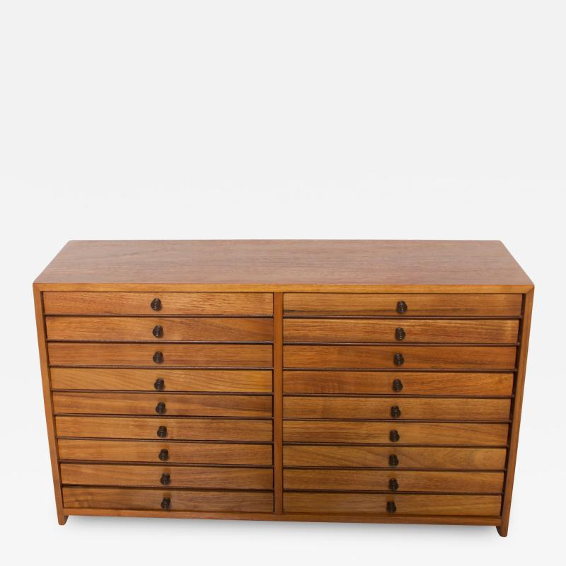 Vintage Dental Cabinet Solid Wood Multi Drawer Jewelry Box Apothecary Chest