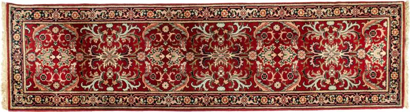 Vintage Hand Knotted North American Wool Area Rug
