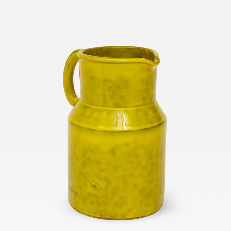 Vintage Italian Ceramic Pitcher Large