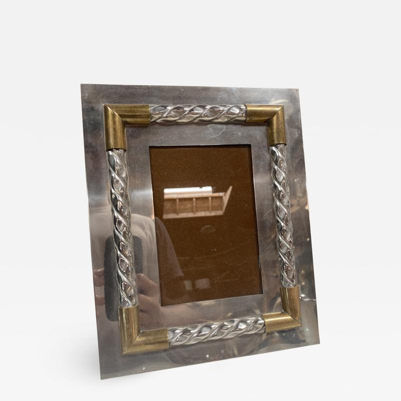 Vintage Italian Picture Frame Italy 1970s