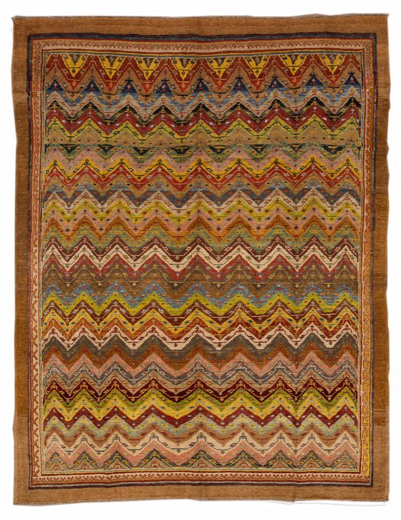 Vintage Persian Tribal Wool Rug