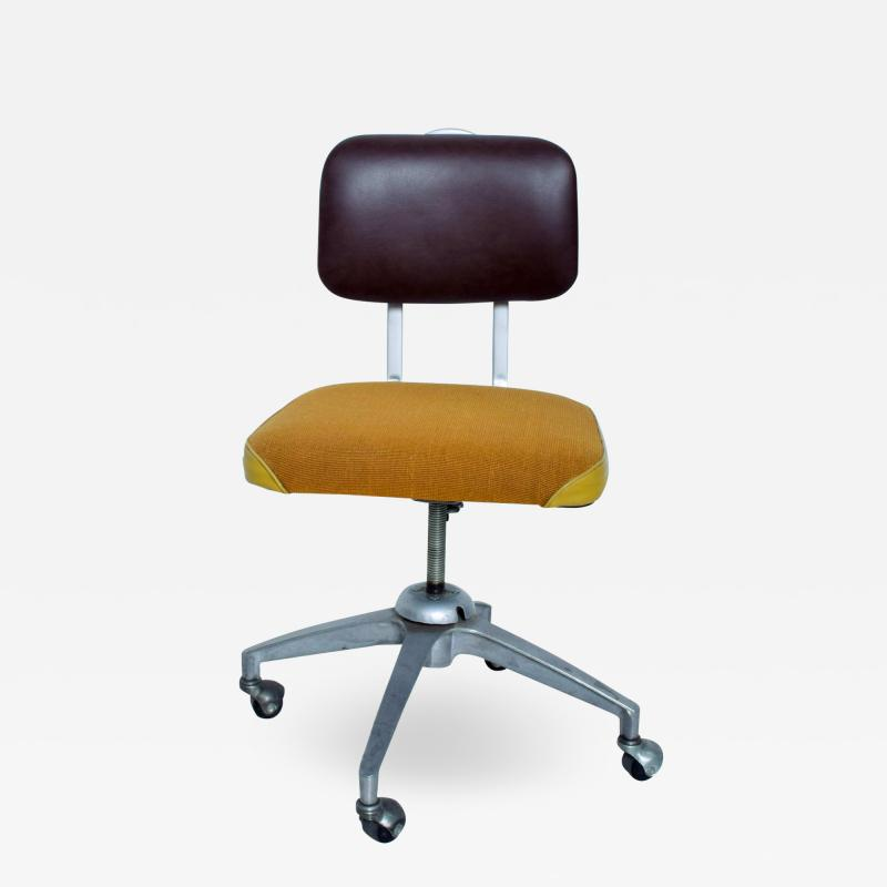 Vintage Rolling Industrial COSCO Tanker Office Desk Chair