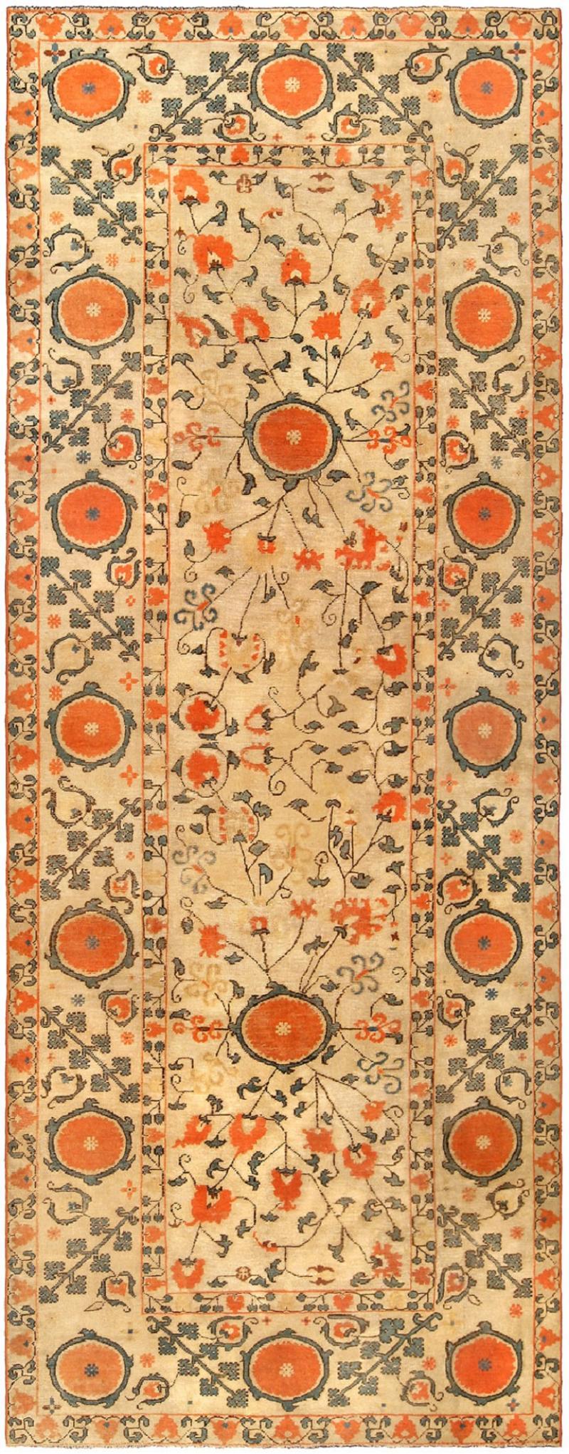 Vintage Samarkand Khotan Carpet