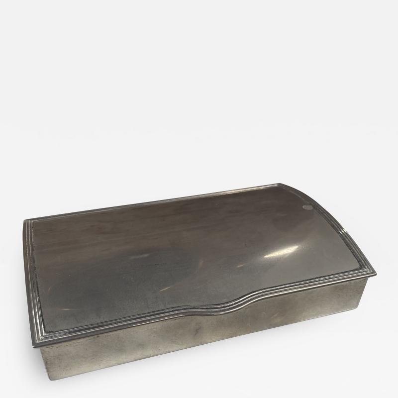Vintage Silver Decorative Box Italy 1960s