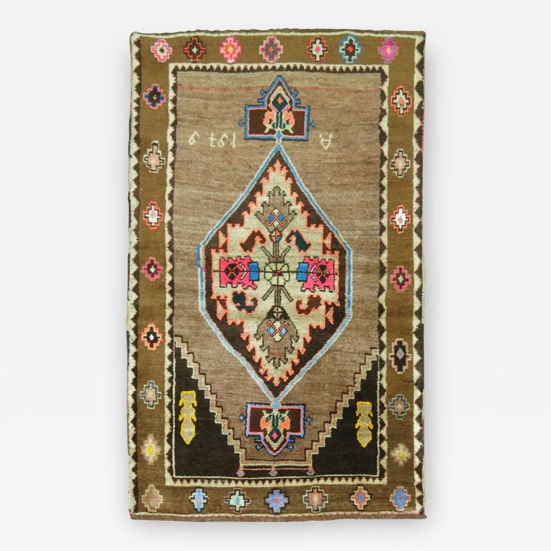 Vintage Turkish Kars rug no 31115