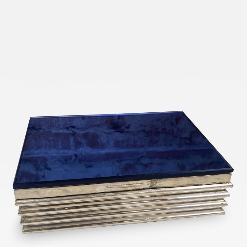 Vintage decorative Blue Box 1970s