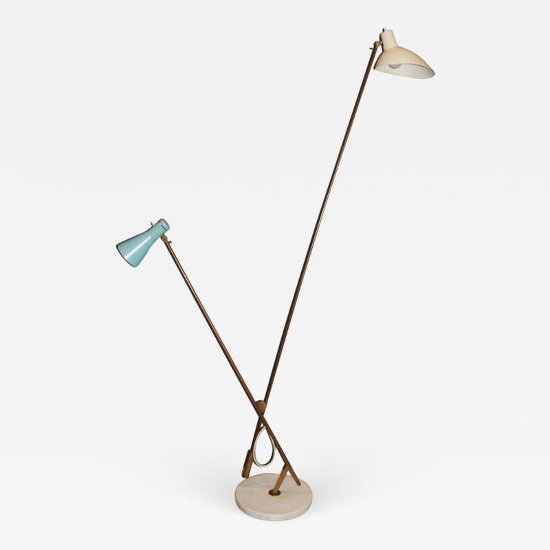 Vittoriano Vigano Vittoriano Vigano Important Floor Lamp model 1049 ca 1951