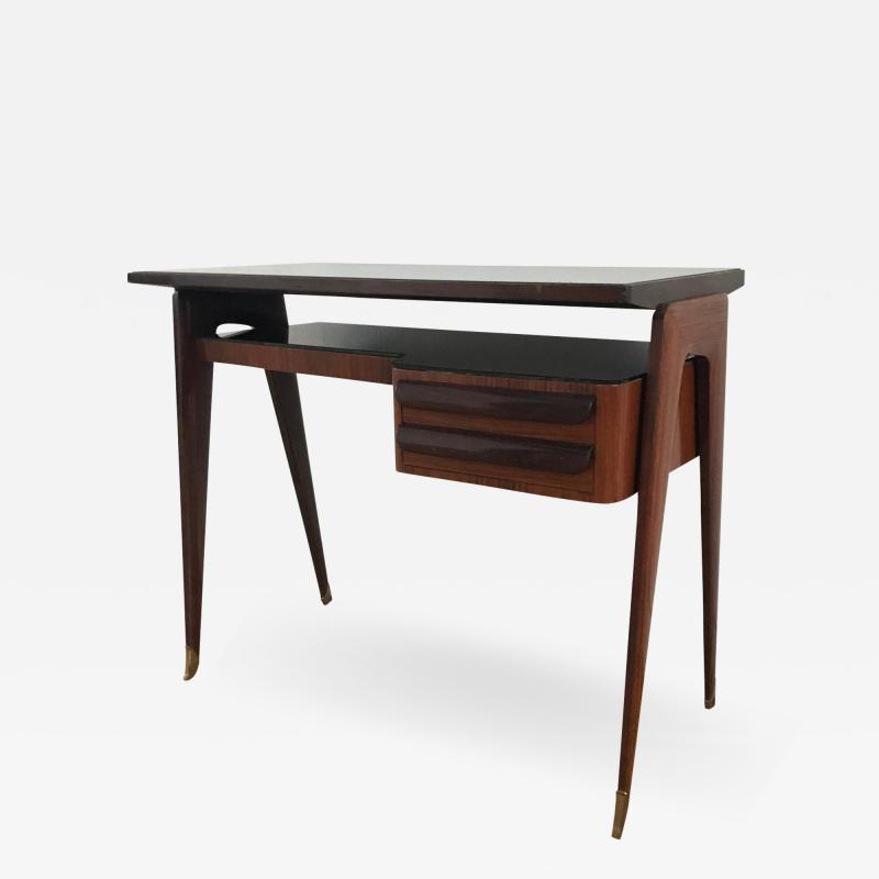 Vittorio Dassi Small Italian Mid Century Writing Desk By Vittorio Dassi