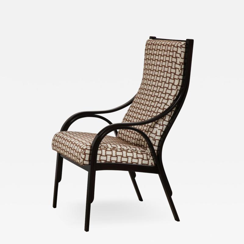 Vittorio Gregotti Rare Cavour Chair by V Gregotti G Stoppino L Meneghetti
