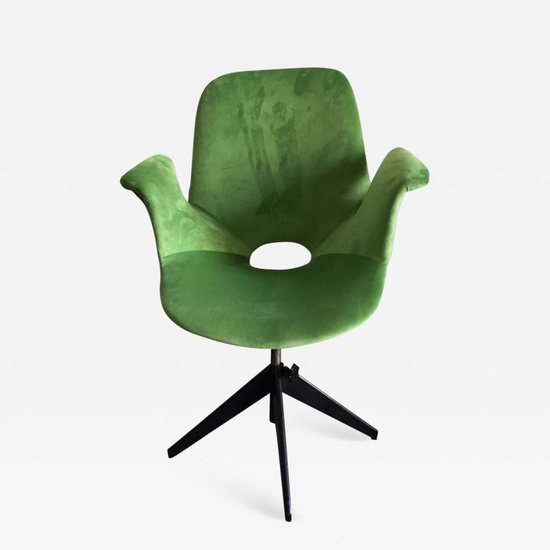 Vittorio Nobili Medea Swivel Chair