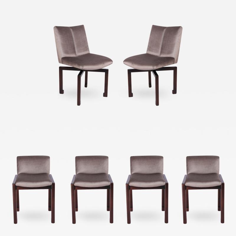 Vladimir Kagan Set of Six 1950s Vladimir Kagan Dining Chairs