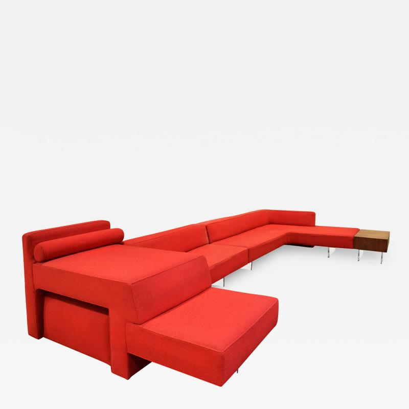 Vladimir Kagan Vladimir Kagan Iconic Omnibus Collection Sofa and Table 1975