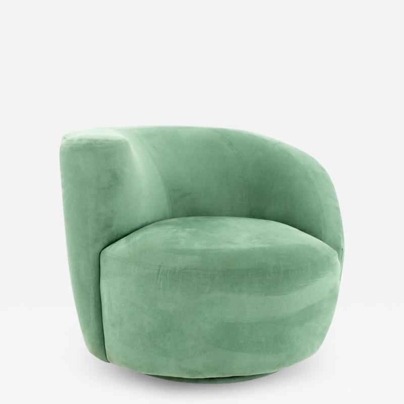 Vladimir Kagan Vladimir Kagan Mid Century Nautilus Lounge Chair