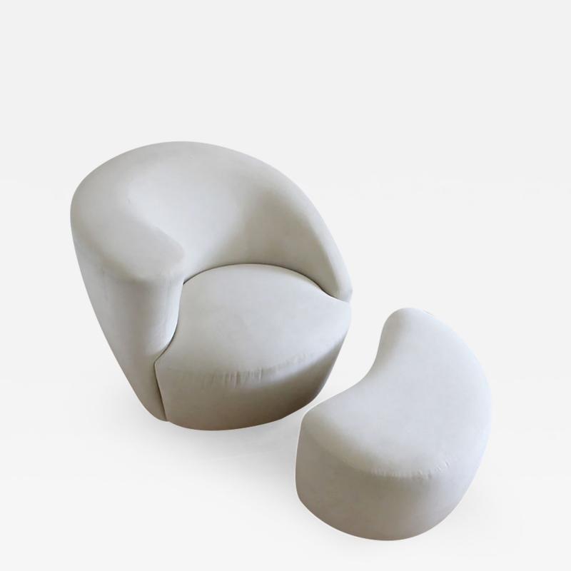 Vladimir Kagan Vladimir Kagan Nautilus Swivel Chair and Ottoman