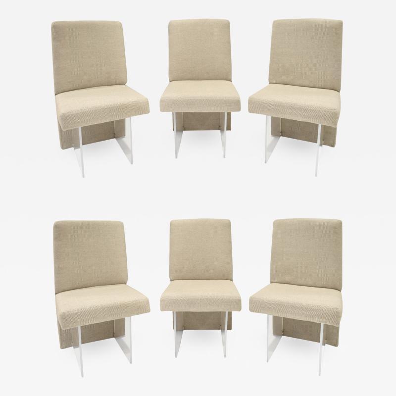 Vladimir Kagan Vladimir Kagan Set of 6 CLOS Dining Chairs 1975 signed