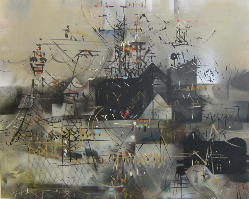 W Carl Burger Painting Industrial