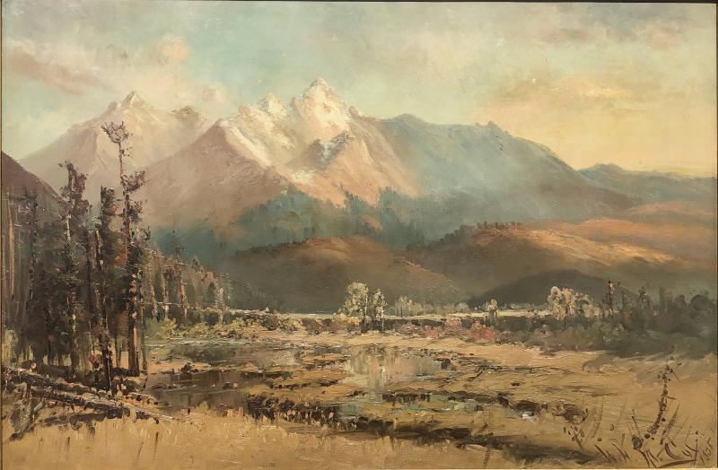 W H M Cox Colorado Rocky Mountains