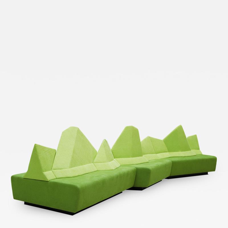WALKING CHAIR Kohlmaier Manufaktur MONTE BELLO modular mountain range sofa