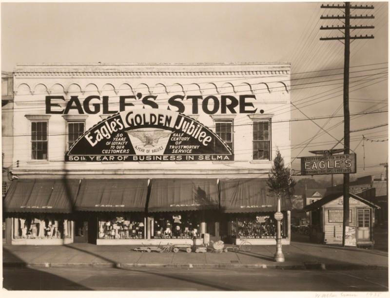 Walker Evans Eagles Store Selma Alabama 1935