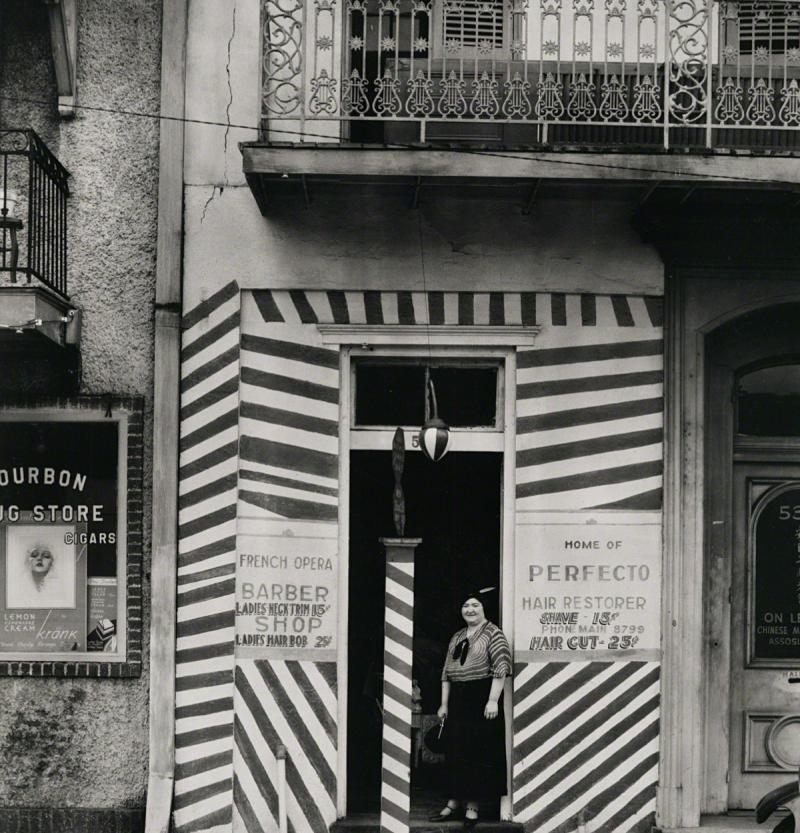 Walker Evans Sidewalk and Shopfront New Orleans 1936