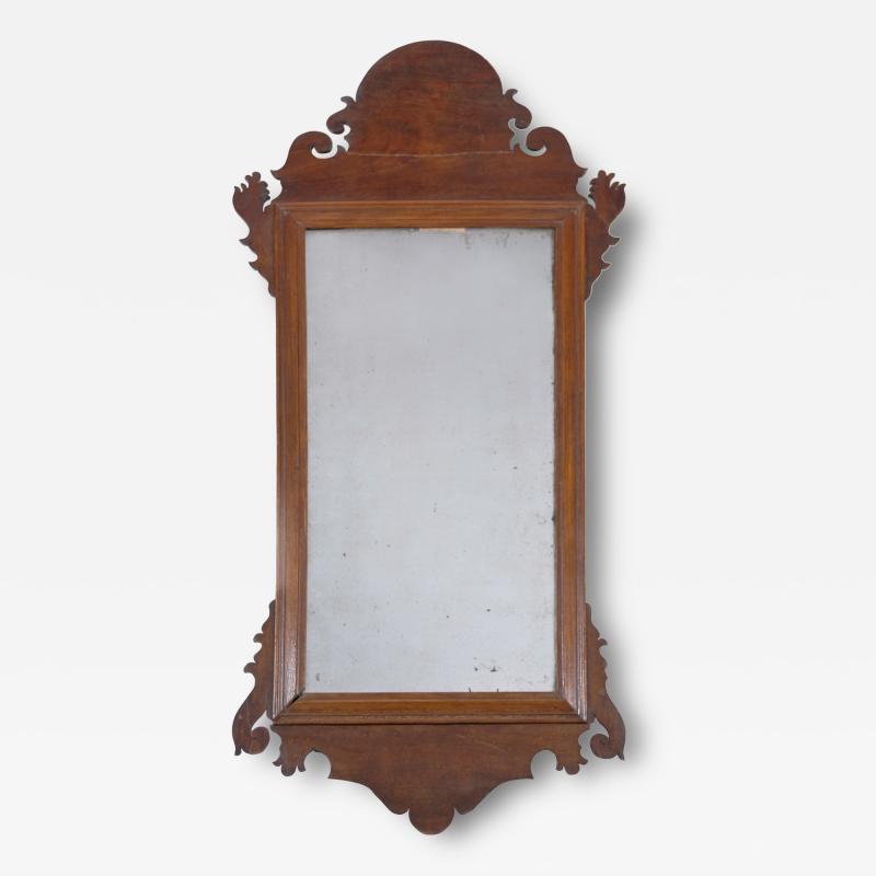 Walnut Chippendale Mirror