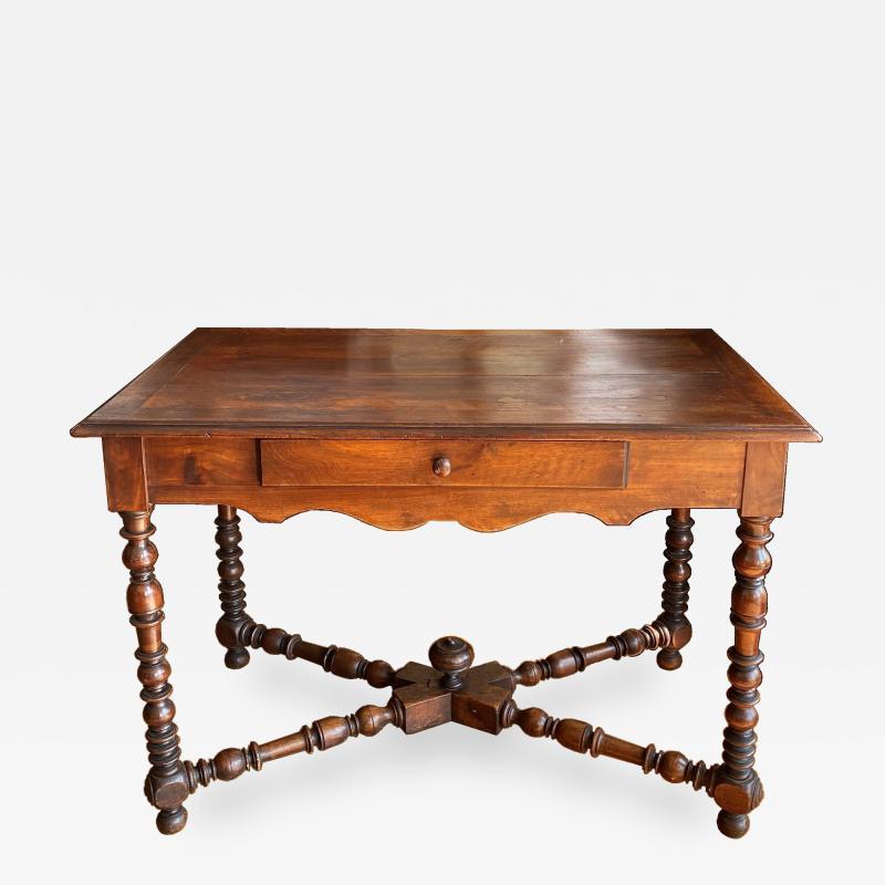Walnut writing table Circa 1840
