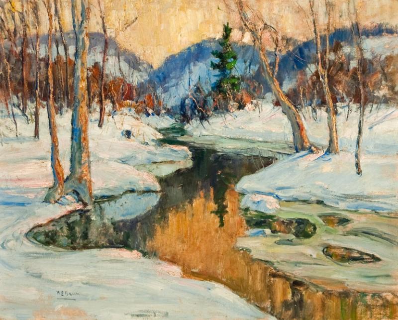 Walter Emerson Baum Quot Snowbound Quot