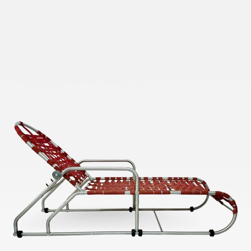 Warren McArthur Rare Warren McArthur Adjustable Chaise circa 1938