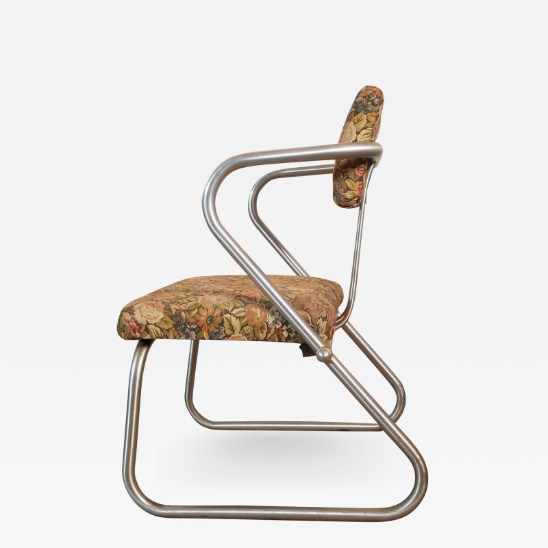 Warren McArthur Warren McArthur Z Chair Model 708 circa 1938