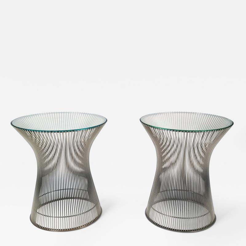 Warren Platner Early Side Tables Designed by Warren Platner for Knoll 1966