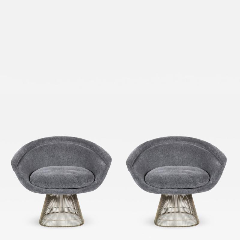 Warren Platner Pair Warren Platner Lounge Chairs