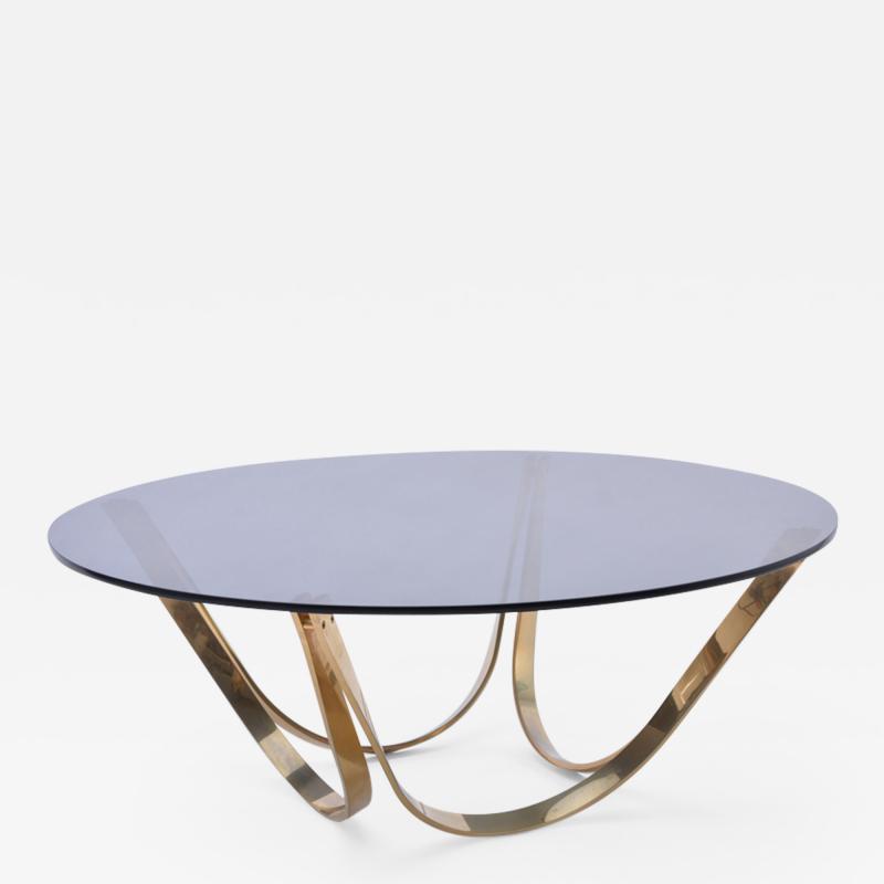 Werner Linder Mid Century Modern Coffee Table Model 2075 by Werner Bacher for Linder