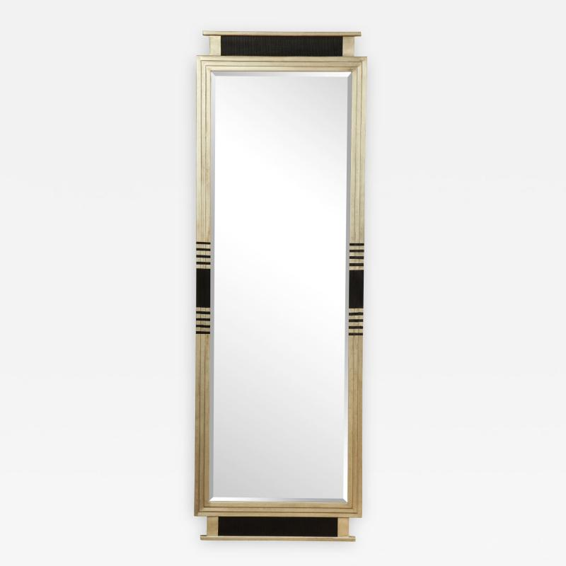 White Gold Gesso Mirror