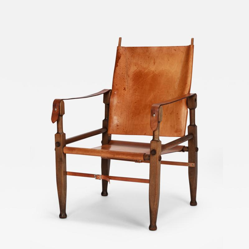 Wilhelm Kienzle Wilhelm Kienzle Safari Chair Leather 50s